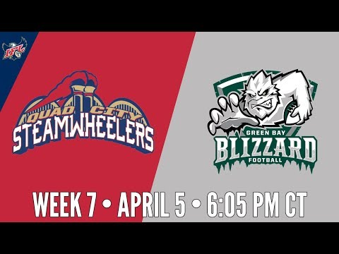 Week 7 | Quad City Steamwheelers at Green Bay Blizzard