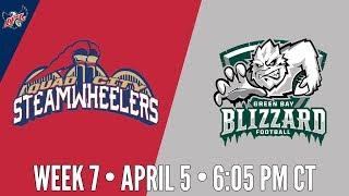 Week 7 | Quad City Steamwheelers at Green Bay Blizzard thumbnail