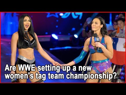 Are WWE setting up a new women's tag team championship? | Bang Showbiz