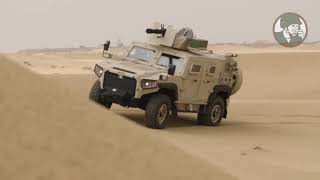 IDEX 2019 NIMR Automotive Launches new AJBAN 447A 4x4 Multi-Role Armou