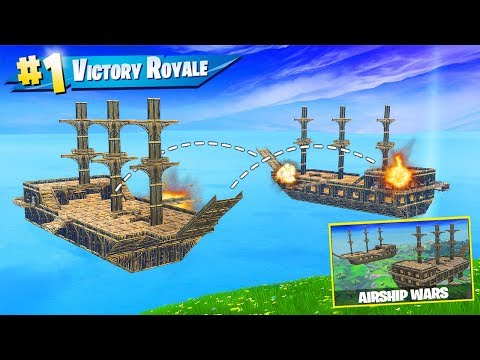 *NEW* PIRATE SHIP WARS Custom Gamemode in Fortnite Battle Royale!