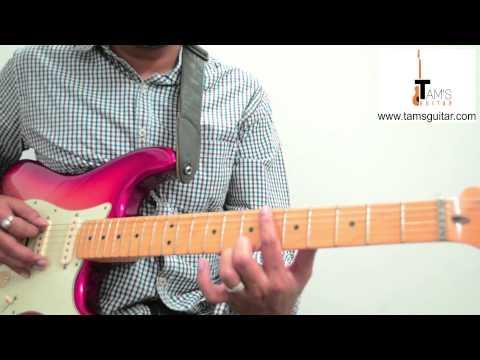 Aao na (Haider) intro riff guitar lesson (www.tamguitar.com)