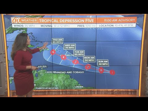 Tropical Depression 5