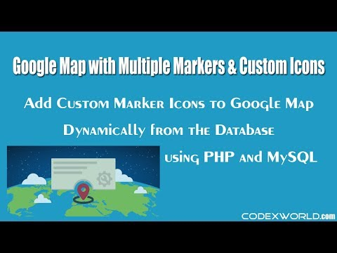 Add Custom Marker Icons to Google Map Dynamically from the