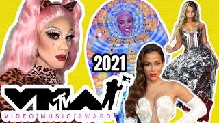 MTV VIDEO MUSIC AWARD 2021 \\ MELHORES E PIORES LOOKS