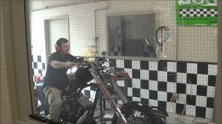 TC 88 to 107 Inch Twin Cam Chopper Break In on the Superflow Dyno at WITCC Tech Program