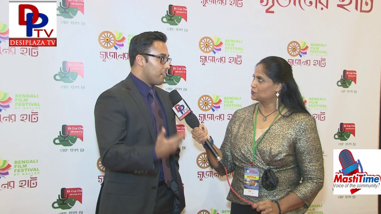 Shihan, One of the Organizers of Bengali Film Festival in Dallas speaks to DesiplazaTV || Dallas