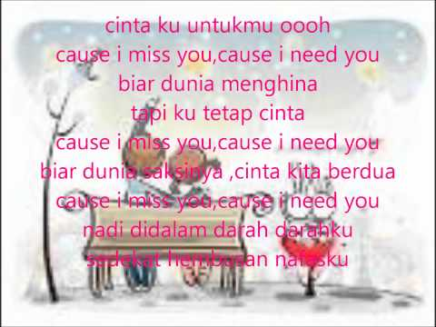 I need you (OST nada CINTA).wmv