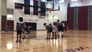 Team L.A.B. vs CMIT Varsity Team -Marvin Guthrie Coach Dayal