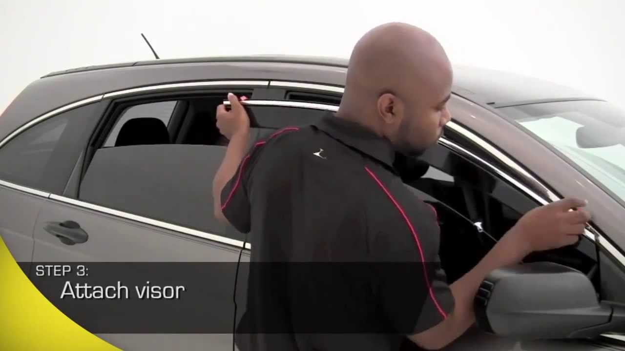 Avs Low Profile Ventvisor Window Deflectors Installation