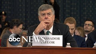 William Taylor delivers opening statement | ABC News