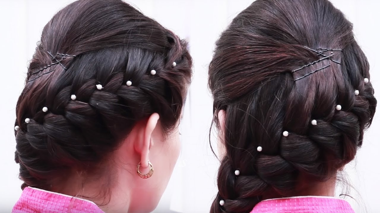 quick & easy puff hairstyles | simple puff hair styles | front puff hairstyle for thin hair