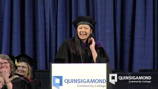 AiVi Nguyen's Commencement Address: Commencement 2019