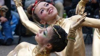 Repeat youtube video 第35回 大須大道町人祭「大駱駝艦」in大光院 金粉ショー