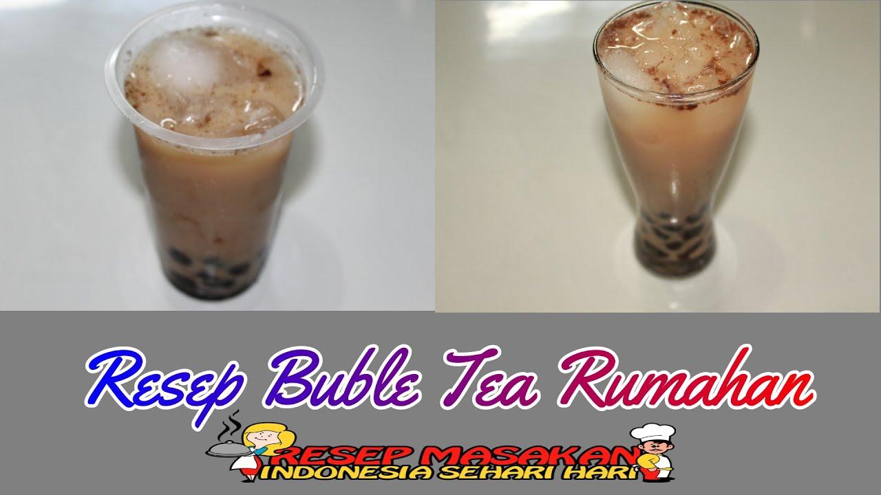 Resep Bubble Tea Rumahan Mudah | Cara Membuat Boba Pearl Rumahan Mudah | Ide Bisnis