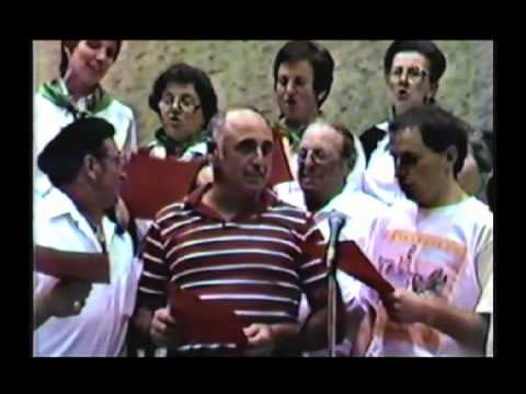 25th SF Basque Club Anniversary at the BCC, 1985. Do you recognize them.avi