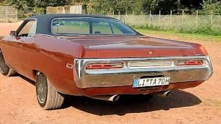 Chrysler Newport 71 exhaust sound