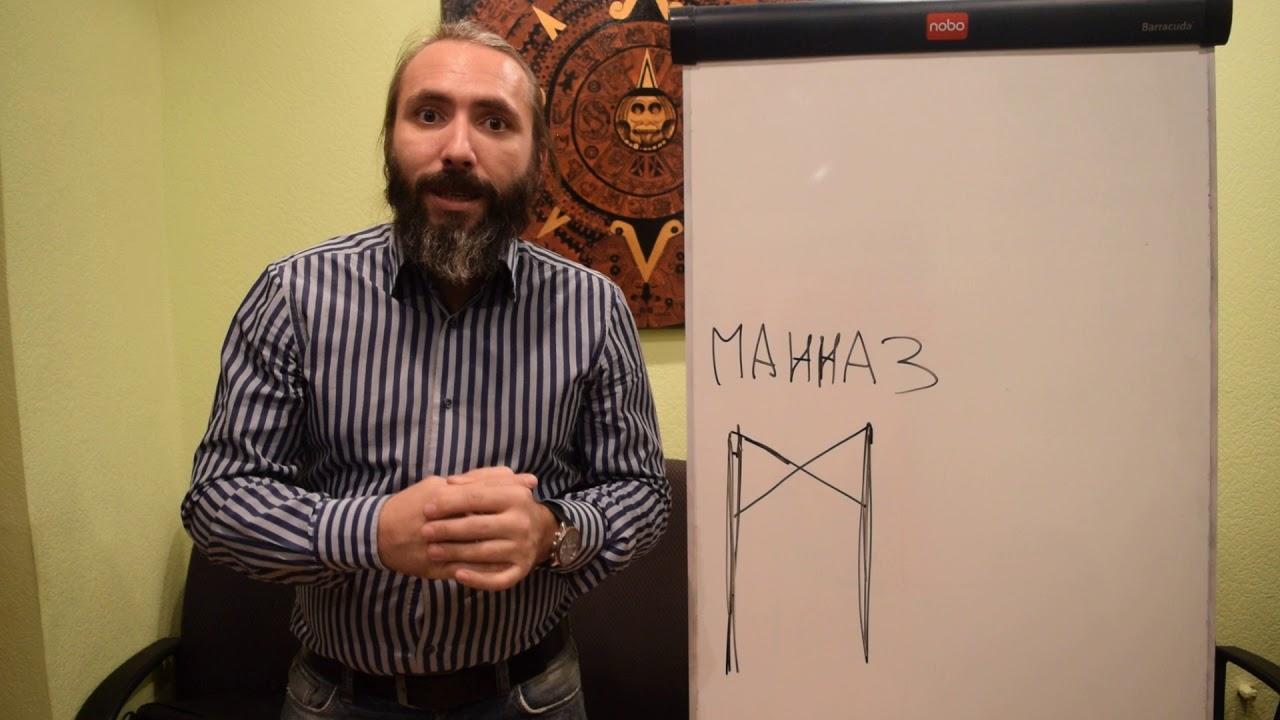 Руна Манназ. Видео обзор, Значение и Толкование Руны Манназ