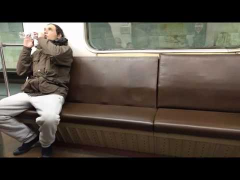 Rave in Moscow metro