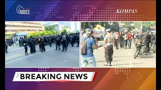 Situasi Terkini: Jalan Thamrin Tak Bisa Dilintasi, Polisi Tangkap Sejumlah Orang di KS Tubun