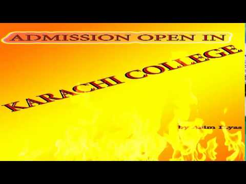 ADMMISSION OPEN IN KARACHI COLLEGE