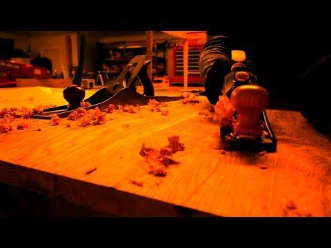 Wormy Oak Coffee Table