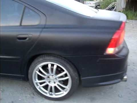 2002 Volvo S60 turbo, must listen to the exhaust! - YouTube