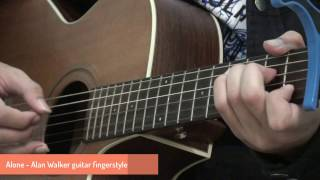 Alan Walker - Alone (Guitar Solo) Fingerstyle | TienDat Acoustic