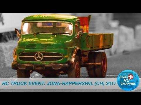 BEST OF SWISS RC TRUCK EVENT - RC TRUCK SHOW - JONA 2017, SWITZERLAND - BIG EXCAVATOR, TRACTORS
