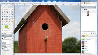 How To Change Color Of An Object In Gimp