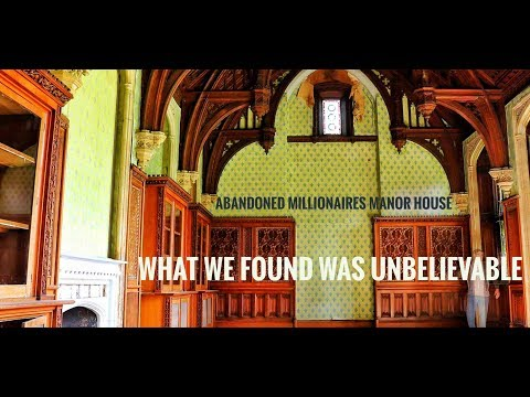 Abandoned Mansion My Greatest Explore (What We Found Was crazy)