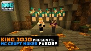 "♪  ""MC Craftmaker""  A Minecraft Parody of Olly Murs Ft. Flo Rida - Troublemaker"
