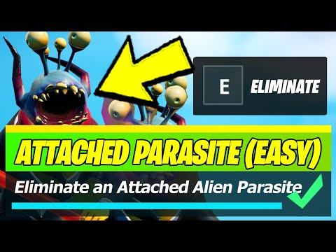 Fortnite: Cómo eliminar un parásito alienígena adjunto