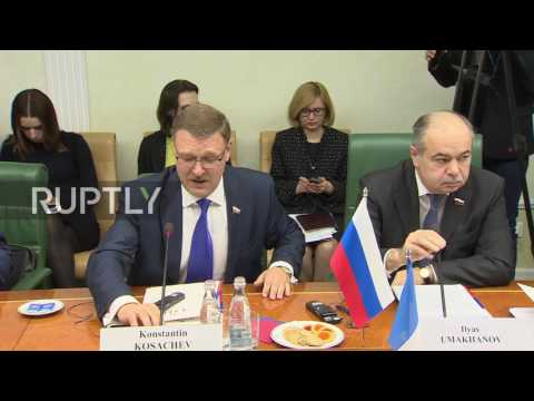 Russia: French parliamentarians led by ex-PM call for mutual trust in Moscow