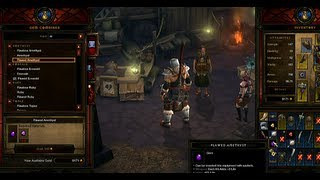 Diablo III: Crafting Overview Commentary (Video Game Video Review)