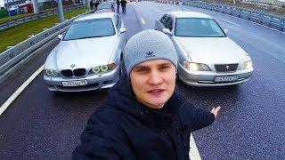 BMW E39 vs Toyota Cresta !
