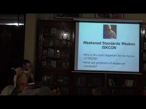25.02.2018_H.G. Malati Mataji-Weakened Standards Weaken ISKCON