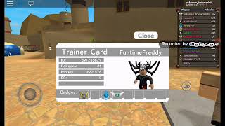 Springtrap spielt: Pokemon-Steinbronze in Roblox