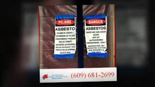 Asbestos Testing Service Franklin Township NJ | Call (609) 681-2699