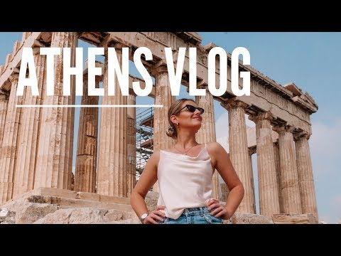ATHENS VLOG // MY FIRST TIME IN GREECE