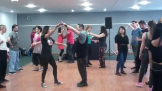 Beginners Brazilian Zouk Dance Lesson Tutorial