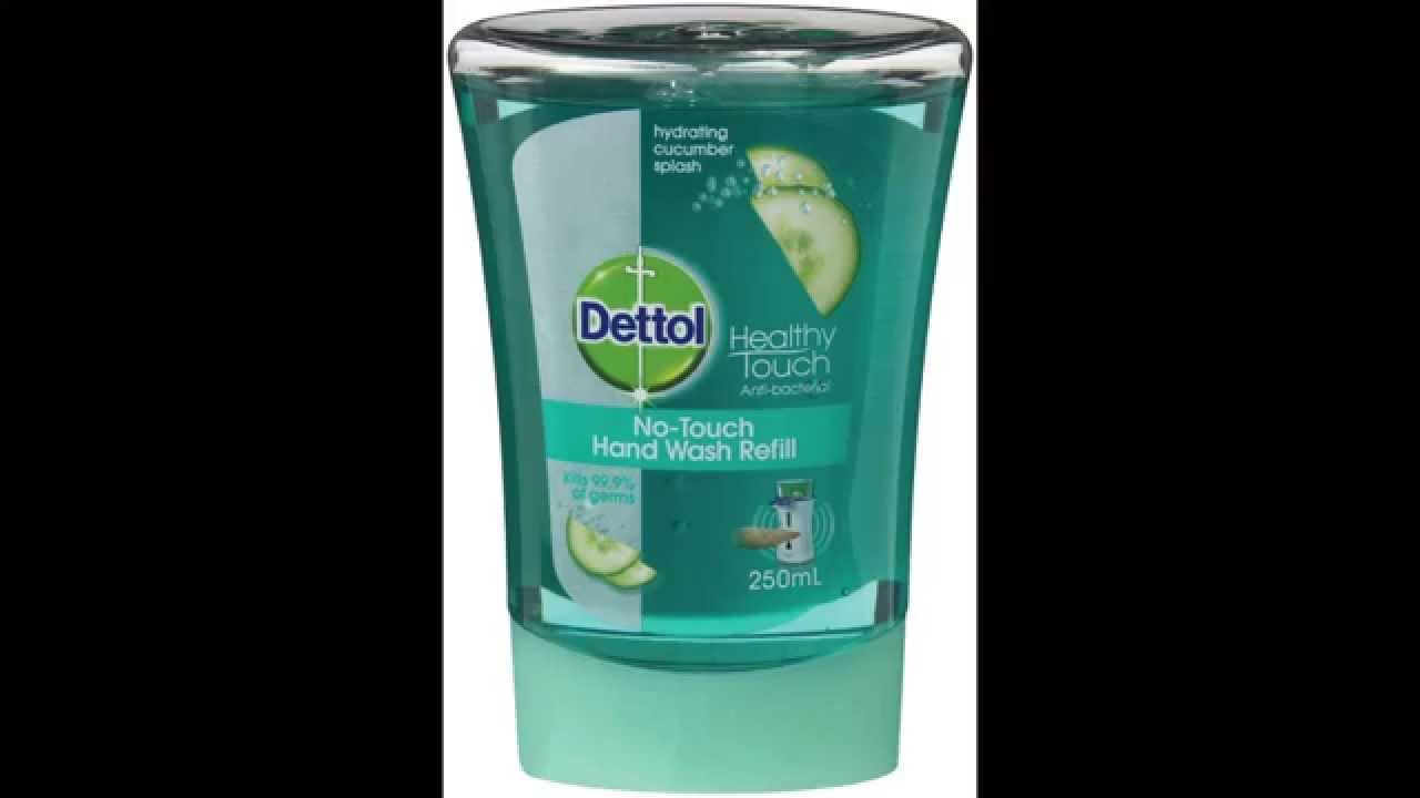 Trick - How to refill Dettol No-Touch Hand Wash System - YouTube