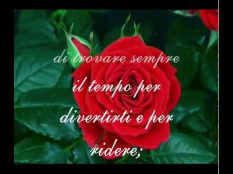 Extrêmement MESSAGGIO DI DOLCEZZA. BUON COMPLEANNO - YouTube OQ38