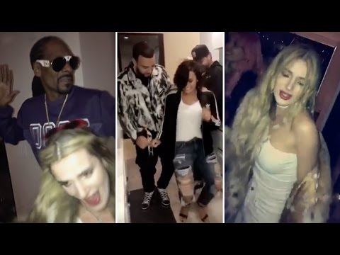 Demi Lovato & Bella Thorne Throw CRAZY House Party With Snoop Dogg & Puff Daddy