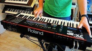 "Roland JX-3P Vintage  Analog Synthesizer ""1983"""