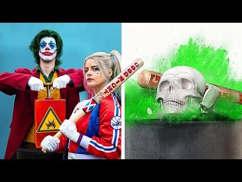 Крашинг в замедленной съемке! / Харли Квинн против Джокера