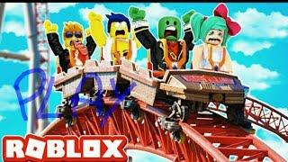 Escape parque de atracciones roblox !! I spend the day at the amusement park
