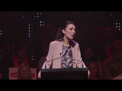 Jacinda's speech to Labour's Campaign Launch