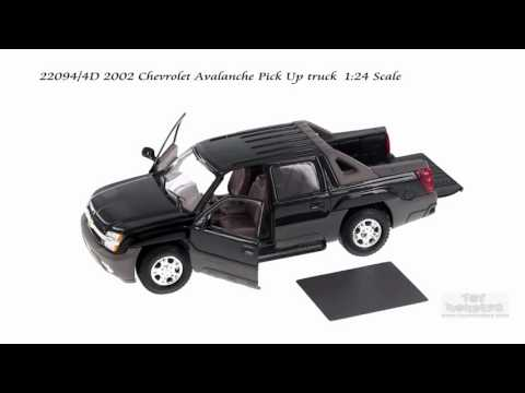 22094/4D 2002 Chevrolet Avalanche Pick-Up truck 1/24 Scale