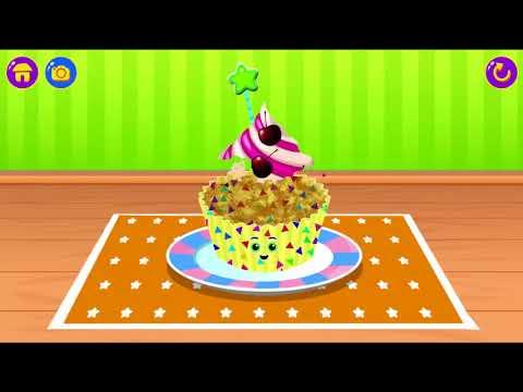 Junior Chef's Cafe - Kids Baking & Cooking Games  Bake A Cupcake